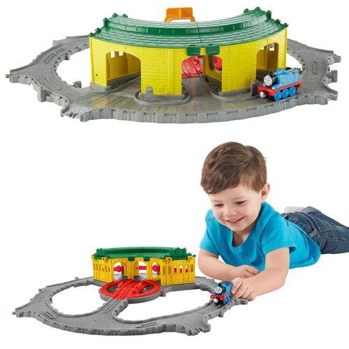 Tidmouth Lokschuppen   Mattel DGK96   Take-n-Play   Thomas & seine Freunde – Bild 2