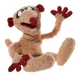 Handpuppe Henry | Sandmann | Jan & Henry | 38 cm | Handspiel Puppe