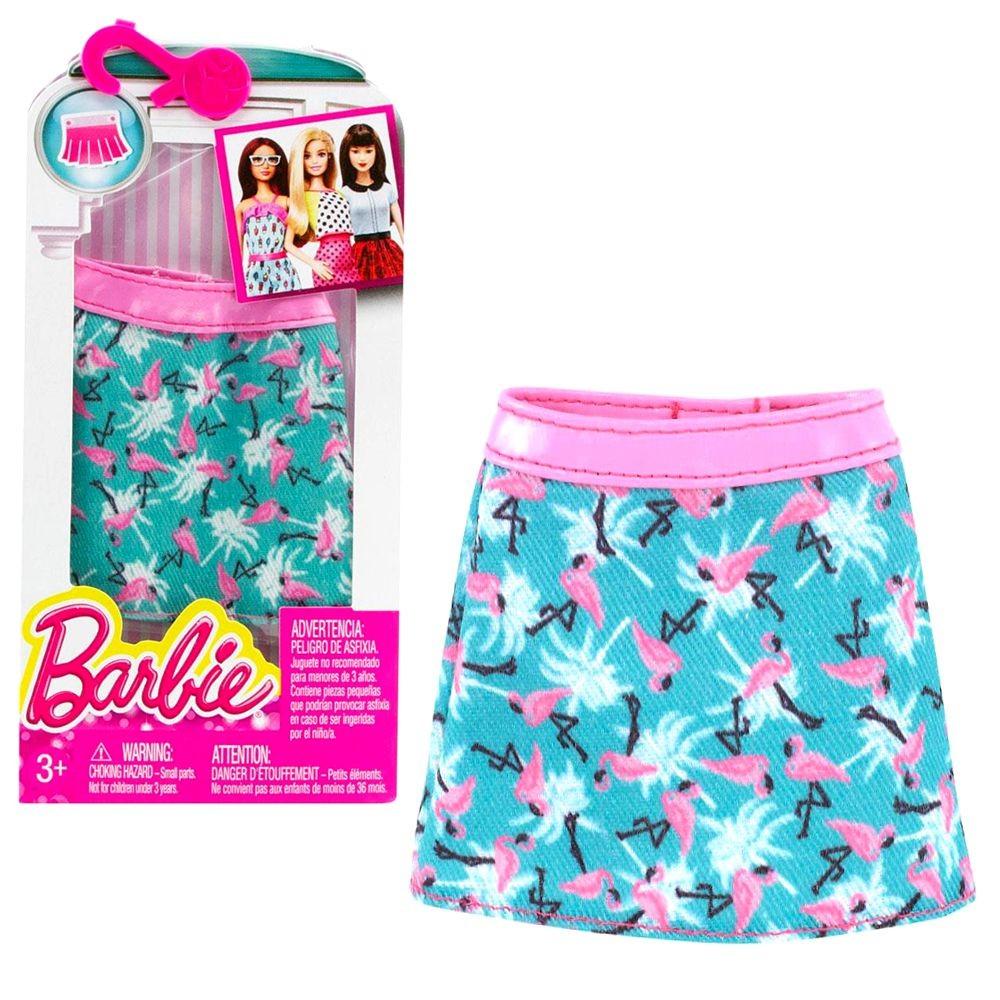 sommer rock flamingo barbie mattel dhh54 trend mode puppen kleidung barbie kleidung zubeh r. Black Bedroom Furniture Sets. Home Design Ideas
