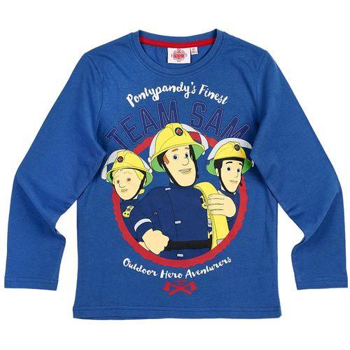Jungen Langarm Shirt Sam | Größe 98 - 128 | Feuerwehrmann Sam | Kinder Shirt – Bild 5