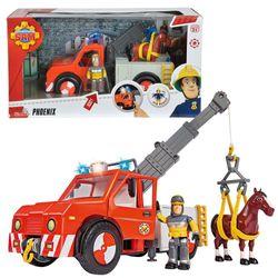 Fahrzeug Tierrettung Phoenix | mit Licht, Pferd & Sam | Feuerwehrmann Sam