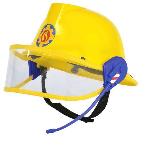 Feuerwehrhelm mit Headset | Feuerwehrmann Sam | Kinder Helm mit Mikrofon – Bild 1