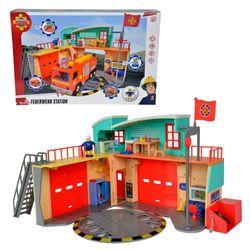 Große Feuerwehrstation | mit Licht & Sound | Feuerwehrmann Sam 001