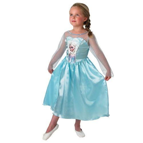 Elsa | Disney Eiskönigin | Frozen | Größe M 110-122 | Kinder Kostüm | Fasching