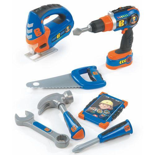 Werkzeug Set 8-teilig | Bob der Baumeister | mit Akkuschrauber & Stichsäge – Bild 1