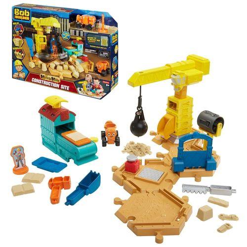 Großbaustelle mit Spielsand | Bob der Baumeister | Spiel-Set mit Bob & Mixi – Bild 1