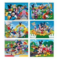 Micky Maus - Würfel Puzzle Mickey Mouse Clubhouse 24 Teile – Bild 2