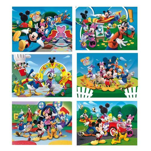 Würfel Puzzle | 24 Teile | Disney Micky Maus | Mickey Maus | Clementoni – Bild 2