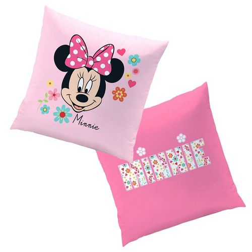 Mouse Liberty | Kinder Kissen 40 x 40 cm | Disney Minnie Maus | Dekokissen – Bild 1