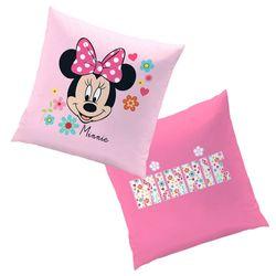 Mouse Liberty | Kinder Kissen 40 x 40 cm | Disney Minnie Maus | Dekokissen 001