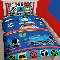 Bettwäsche | Mikrofaser 135 x 200 cm | Thomas und seine Freunde | Garnitur 001