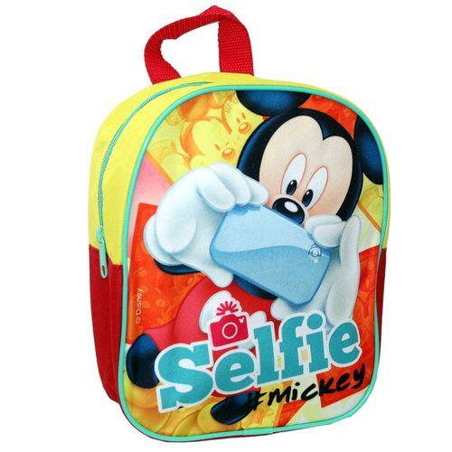 Selfie | Kindergarten Rucksack | 25 x 20 x 9 cm | Micky Maus | Mickey Mouse – Bild 1