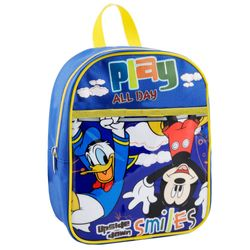Play All Day | Kinder Rucksack | 25 x 21 x 10 cm | Micky Maus | Mickey Mouse