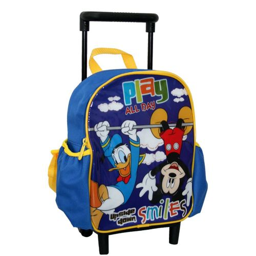Trolley Rucksack | 27 x 22 x 10 cm | Micky Maus | Mickey Mouse | Play All Day – Bild 2