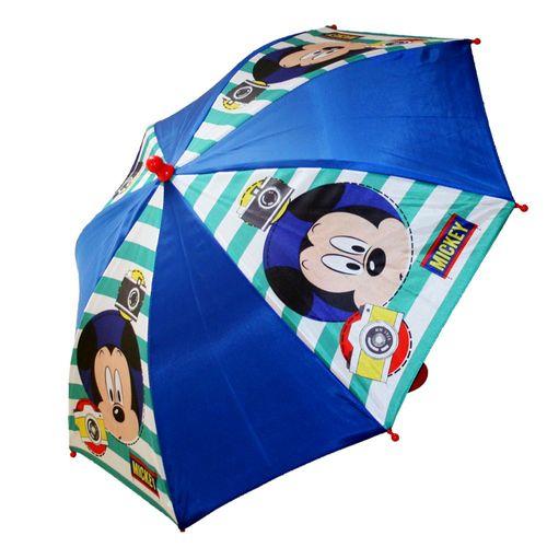 Regenschirm | Stockschirm | blau | Micky Maus | Mickey Mouse
