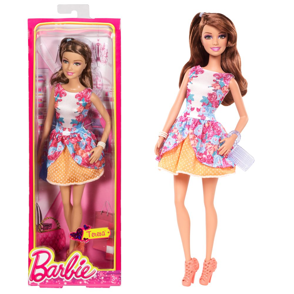 Barbie Fashionista Bambola Teresa Style Estate Ebay