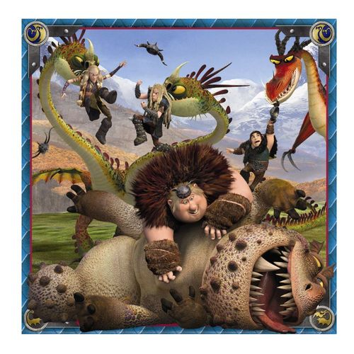 Kinder Puzzle Box | 3 x 49 Teile | DreamWorks Dragons  | Ravensburger – Bild 4