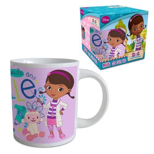 Keramik Tasse   Doc McStuffins Kinderärztin   240 ml   Henkel-Becher