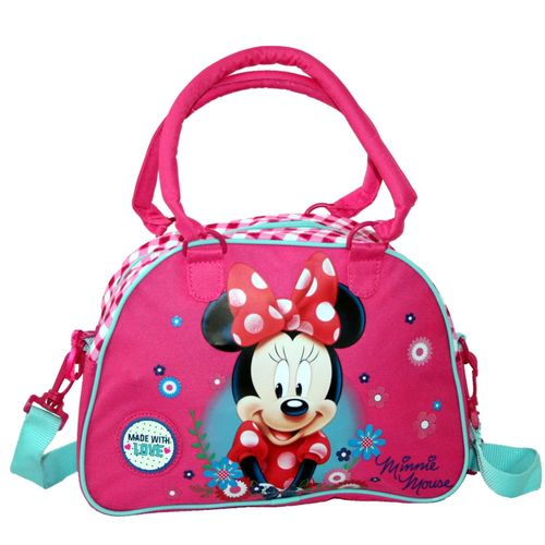 Kinder Schulter-Tasche | 29 x 22 x 8 cm | Minnie Maus Mouse | Classic