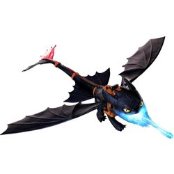 Dragons - Action Spiel Set - Night Strike - Ohnezahn Deluxe Toothless – Bild 2