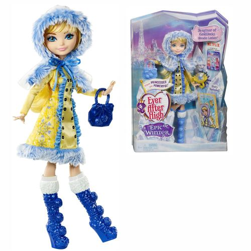 Blondie Lockes | Mattel DKR66 | Ewiger Winter | Ever After High Puppe – Bild 1