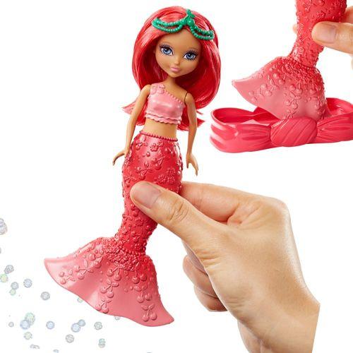 Seifenblasen Meerjungfrau | rot | Mattel DVN00 | Dreamtopia | Barbie Puppe – Bild 3