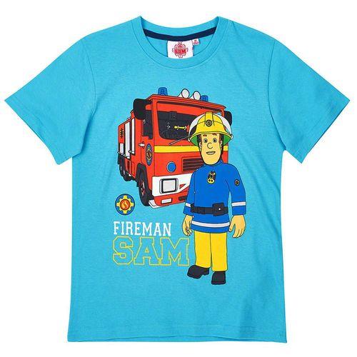 T-Shirt Im Einsatz | Größe 104 - 140 | Feuerwehrmann Sam | Kinder Jungen Shirt – Bild 3
