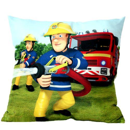 Jupiter | Kinder Kissen 40 x 40 cm | Feuerwehrmann Sam | Dekokissen – Bild 2