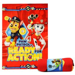 Paw Patrol - Kinder Decke Fleece Kuscheldecke - Ready Action - 100 x 140 cm