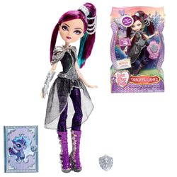 Ever After High Puppe - Drachenspiele Raven Queen – Bild 1