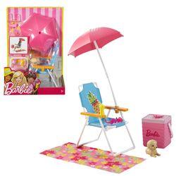 Strand-Ausflug Set & Zubehör | Barbie | Mattel DVX49 | Outdoor Garten-Möbel