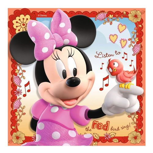 Kinder Puzzle Box | 3 in 1 | Disney Minnie Maus | Ravensburger | Legespiel – Bild 3