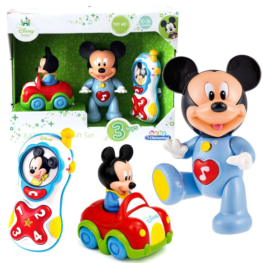 micky maus disney baby mickey geschenk set motorische f higkeiten micky maus freunde. Black Bedroom Furniture Sets. Home Design Ideas