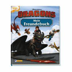 Meine Freunde | DreamWorks Dragons | Freunde-Buch für Kinder | Poesiealbum