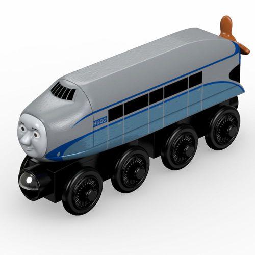 Hugo | Lokomotive | Mattel DTB89 | Holzeisenbahn | Thomas & seine Freunde