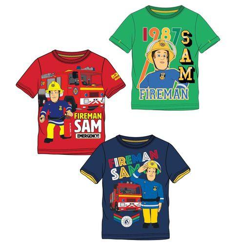 T-Shirt Unser Held | Größe 104 - 140 | Feuerwehrmann Sam | Kinder Jungen Shirt – Bild 1