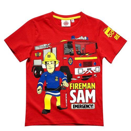 T-Shirt Unser Held | Größe 104 - 140 | Feuerwehrmann Sam | Kinder Jungen Shirt – Bild 4