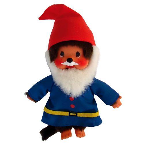 Waldzwerg | 20 cm | Monchhichi Puppe | Junge | Gartenzwerg – Bild 2