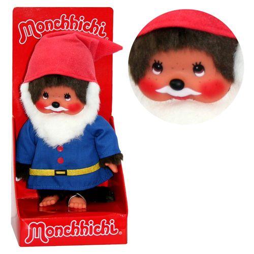 Waldzwerg | 20 cm | Monchhichi Puppe | Junge | Gartenzwerg – Bild 1