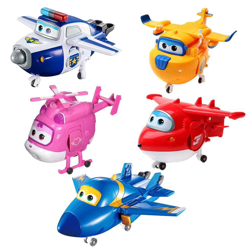 Super wings mini transform flugzeuge a bots
