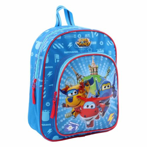 Kinder Rucksack | Rescue Power | 31 x 25 x 12 cm​​ | Super Wings – Bild 1