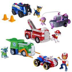 Auswahl Fahrzeuge | Mit beweglichen Spielfiguren | Paw Patrol