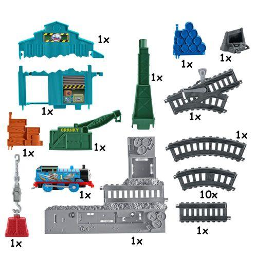 Spiel Set Lagerhaus Abriss | Mattel DVF73 | TrackMaster | Thomas & seine Freunde – Bild 4