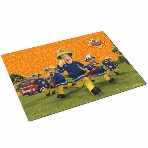 Tisch-Unterlage | Feuerwehrmann Sam | Kinder Platz-Set-Deckchen | 42 x 29 cm