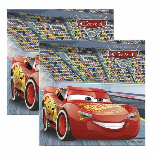 Servietten Race | 20 Stück | Disney Cars | 2-lagig | Party Kinder Geburtstag