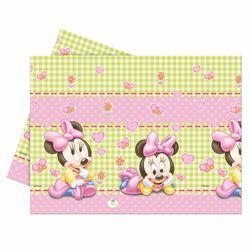 Tischdecke Baby Mouse | Tischtuch 120 x 180 cm | Minnie Maus | Party Geburtstag