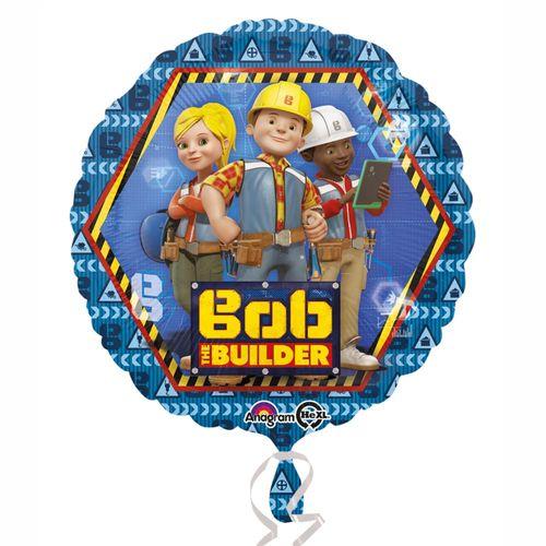 Teamarbeit | Folien Ballon 43 cm | Bob der Baumeister | Kinder Party Geburtstag