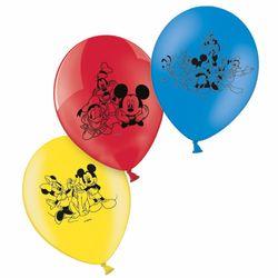 Party Ballons bunt | 6 Stück | Mickey Mouse | Disney Micky Maus | Luftballons