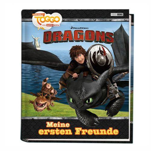 Meine ersten Freunde | DreamWorks Dragons | Freundebuch | Poesiealbum