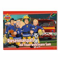 Riesenmalspaß mit Sam und seinen Freunden   Feuerwehrmann Sam   Malheft